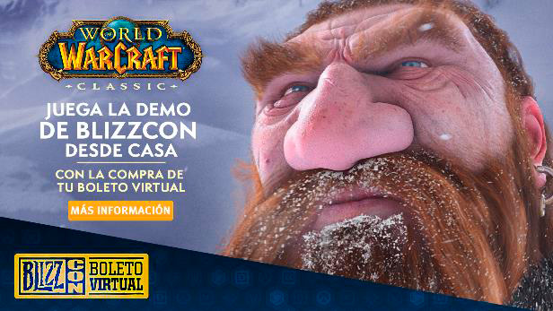 Demo de la BlizzCon de WoW Classic