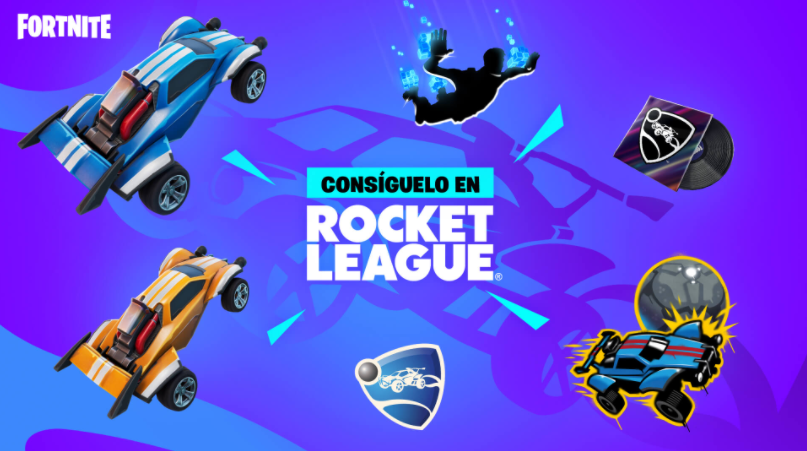 Recompensas llama-rama fortnite y rocket league