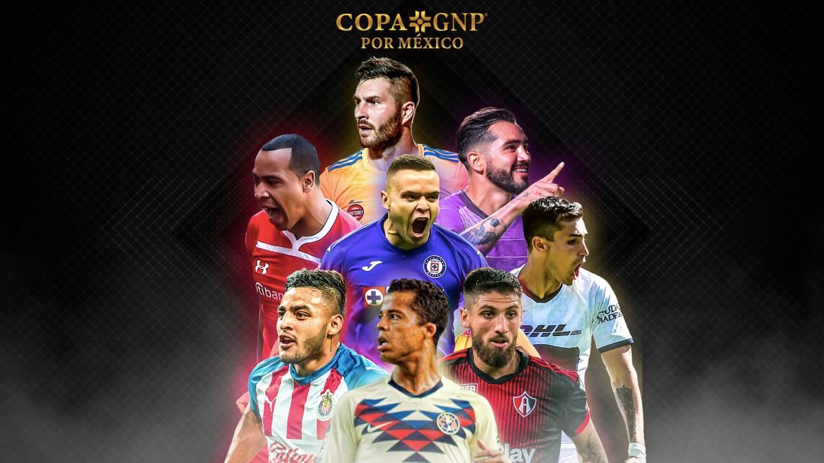 Copa GNP por México: canales y horarios para ver los partidos por TV