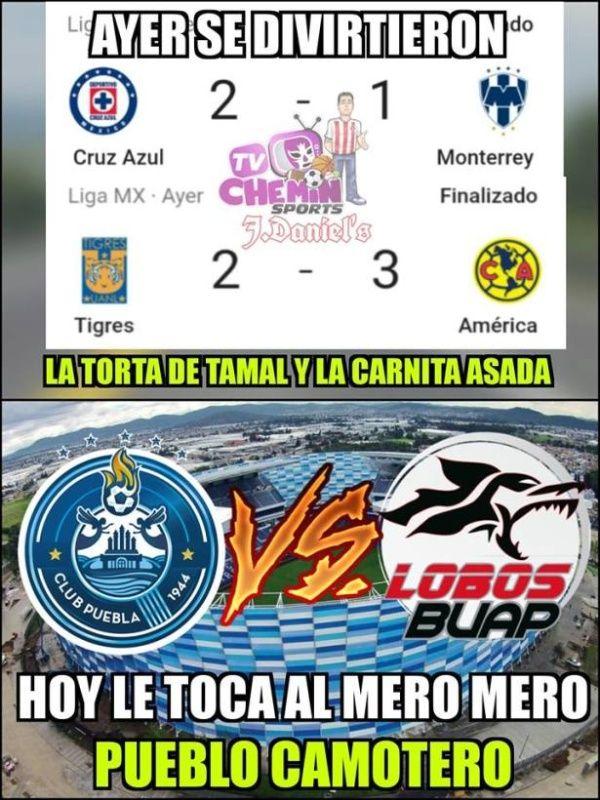 Memes de la Jornada 12 de la Liga MX
