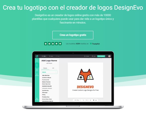 DesignEvo: cómo hacer un logotipo en línea | PandaAncha.mx