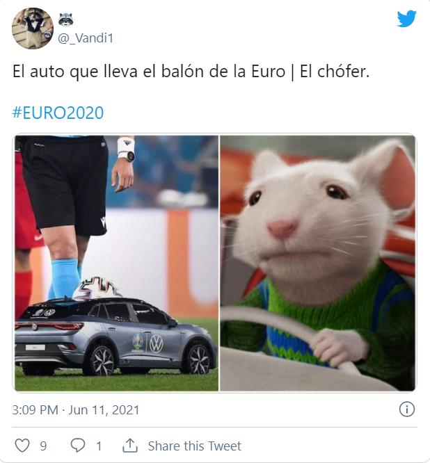 Memes de la Eurocopa 2020