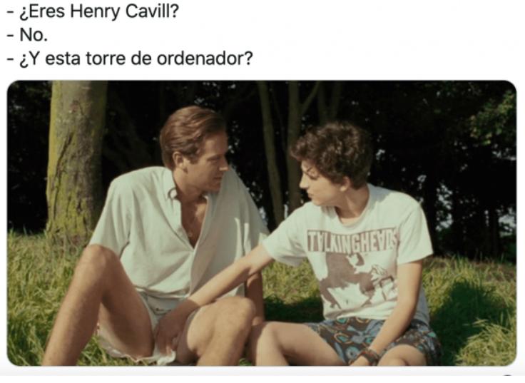Memes del hombre perfec... Henry Cavill