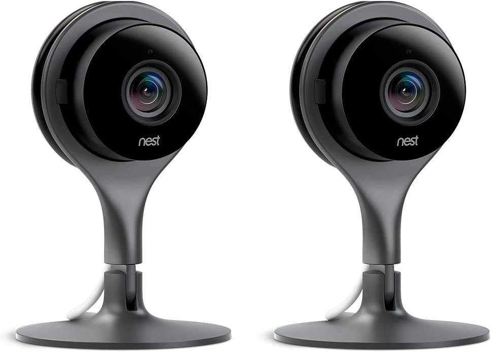 Cámara de vigilancia Nest con visión HD 1080p.