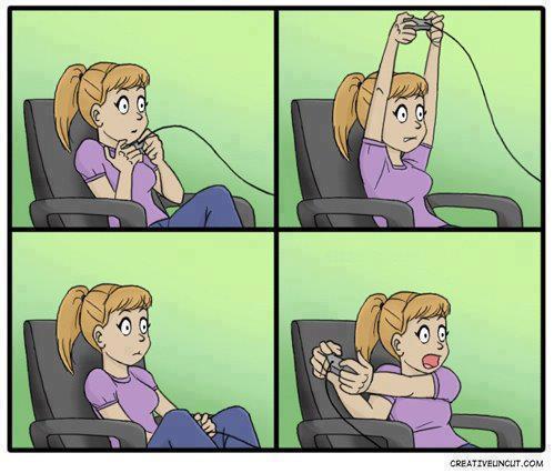 ¿Todos hemos jugado así verdad?
