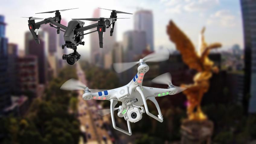 ¿Necesitas licencia para volar drones en México?
