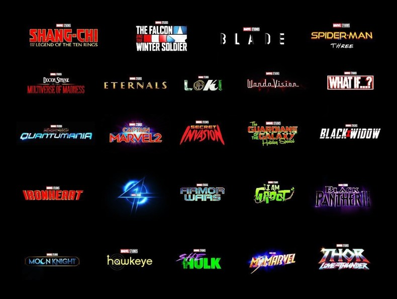 Próximas películas y series de Marvel para 2021 y 2022