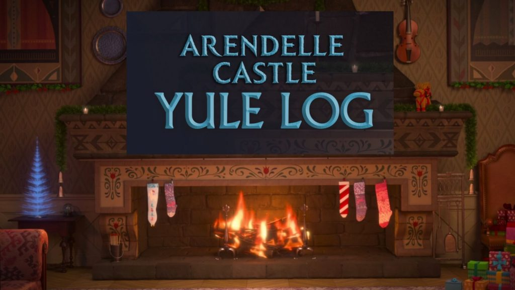 Arandelle Castle Yule Log 2.0