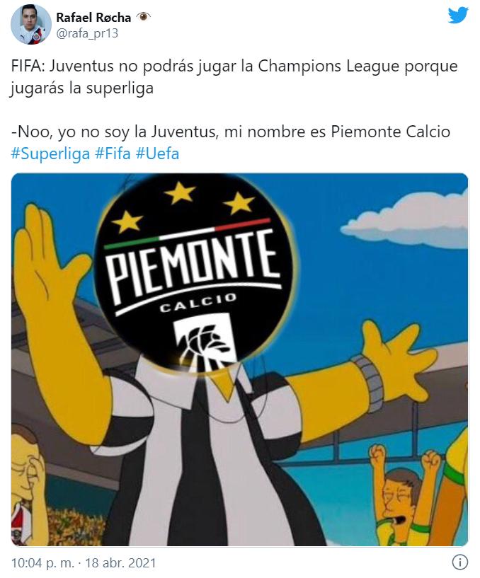 Memes de la Superliga Europea