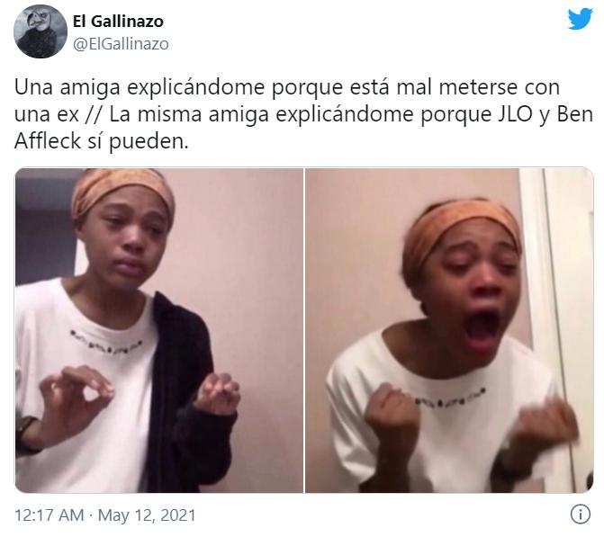 Memes de JLo y Ben Affleck