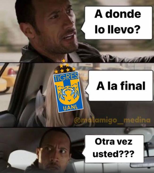 Memes de Tigres en el Mundial de Clubes