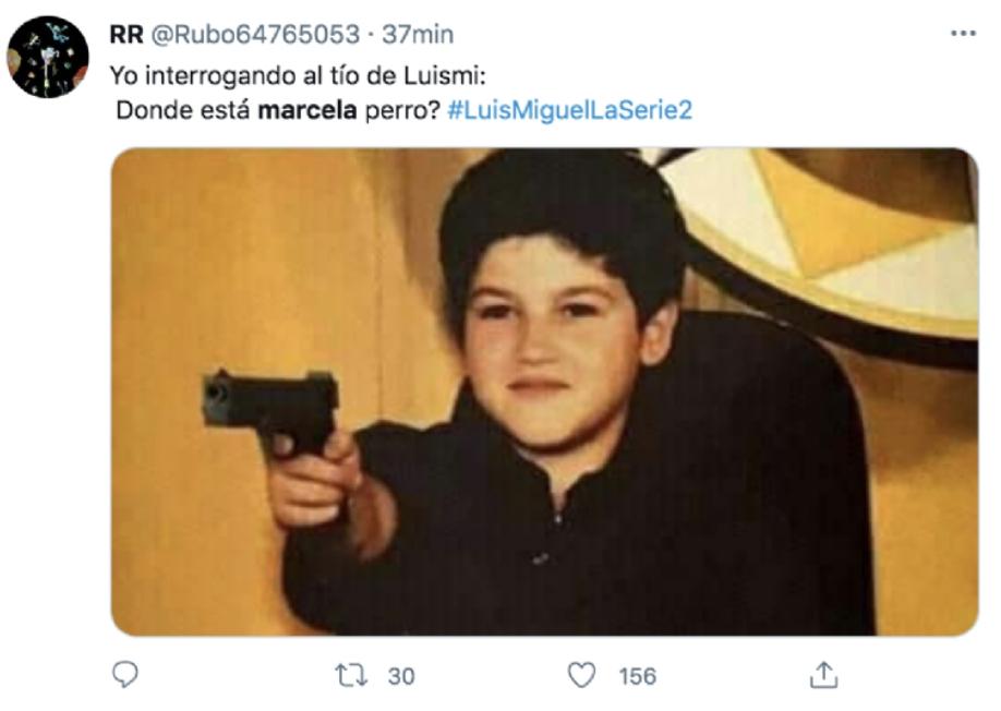 Memes de Luis Miguel La Serie