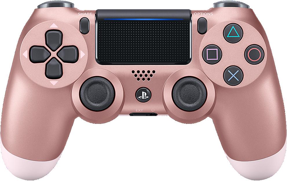 Control Dualshock 4 Oro Rosa