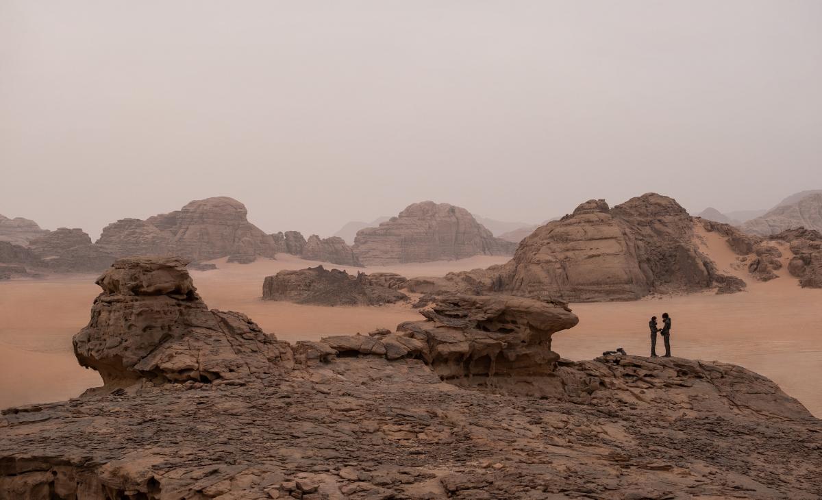 Dune tiene flamantes secuencias filmadas específicamente en ambientes naturales y reales en países como Hungría, Jordania, Emiratos Árabes Unidos y Noruega.