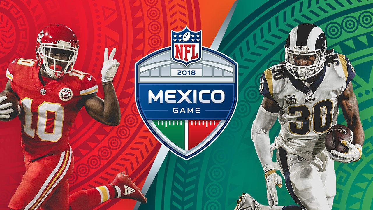 Chiefs vs Rams en México 2018