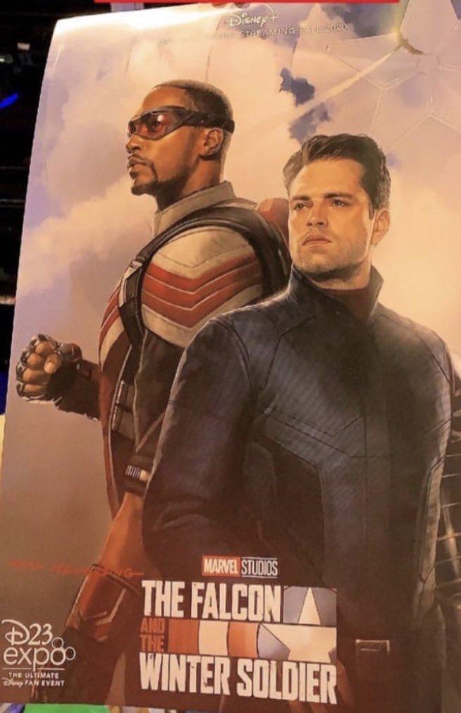 The Falcon and the Winter Soldier en las mejores presentaciones de D23 2019