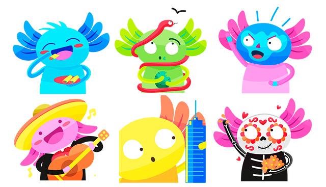 Emojis de la CDMX