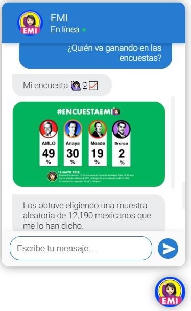 EMI chatbot pregunta