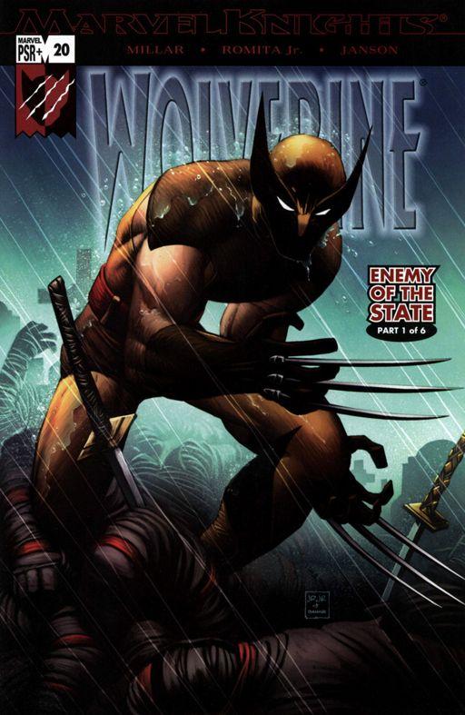 Portada de Wolverine Vol. 3 #20