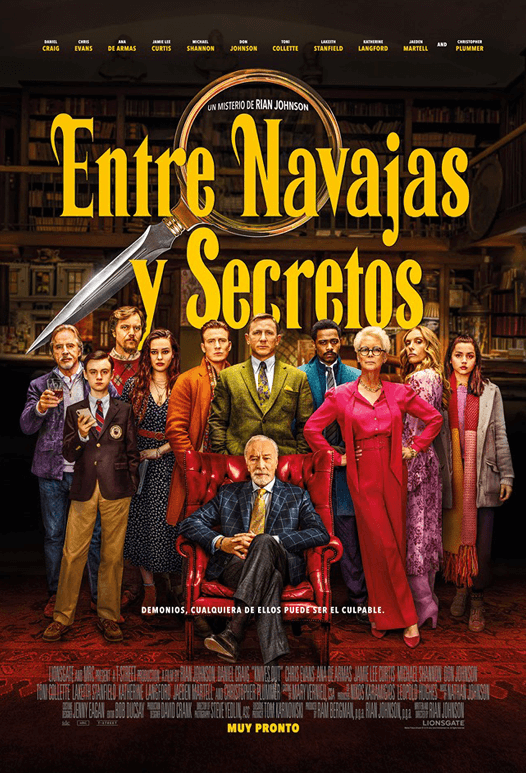 Póster de la película Entre Navajas y Secretos - Knives Out