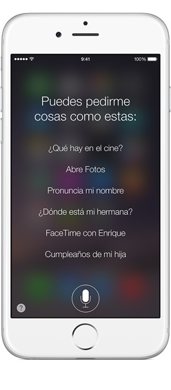 Siri, el asistente de Apple