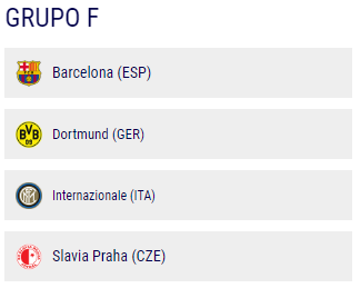 Grupo F de la Champions League