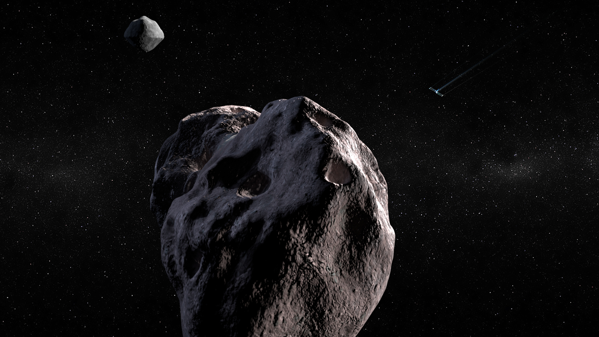 NASA desviará un asteroide doble en 2022