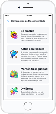 Compromiso Messenger Kids