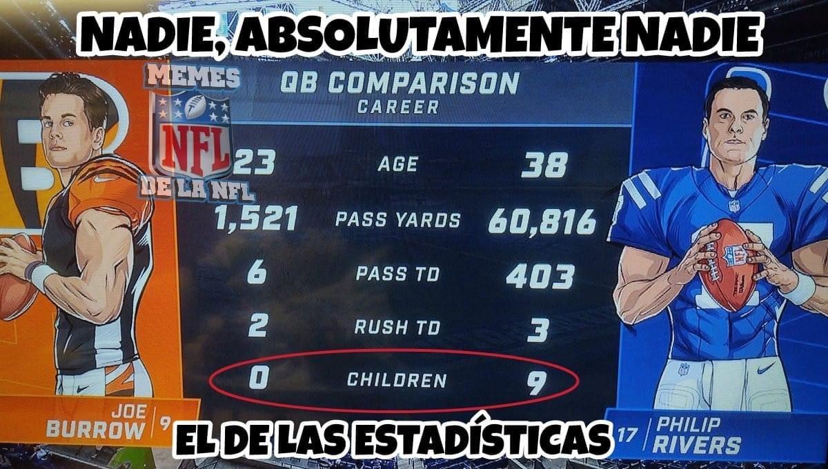 Memes de la NFL, Semana 6