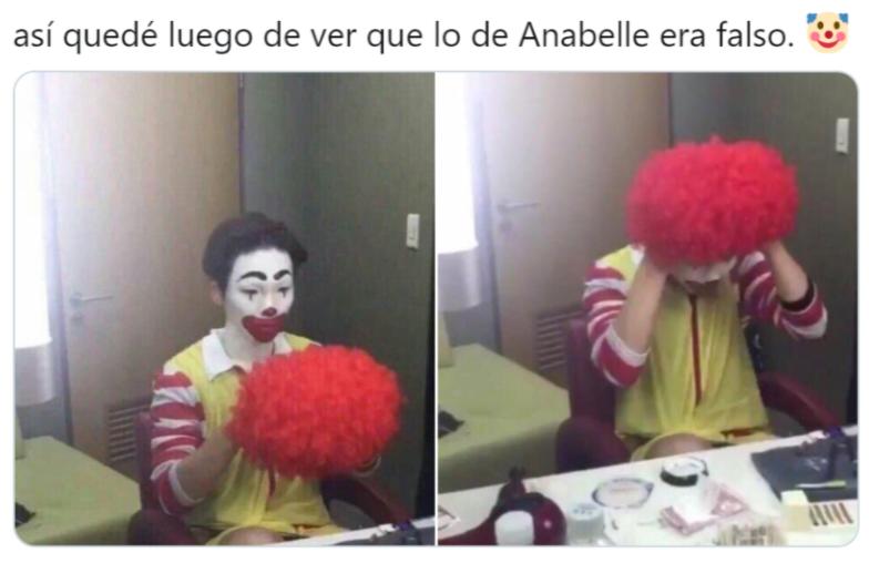 Memes de Annabelle