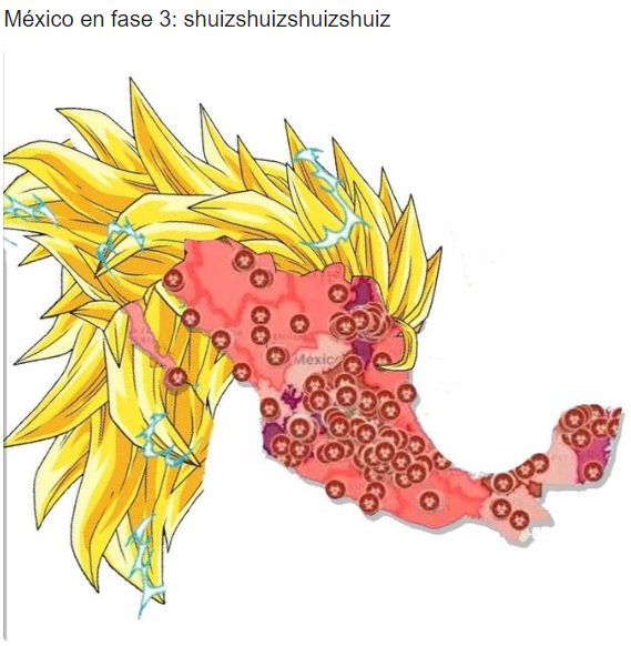 México en fase 3