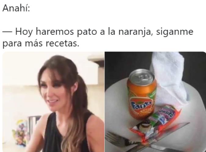 Memes de las enfrijoladas de Anahí