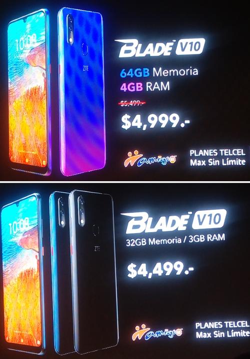 ZTE presenta Blade V10