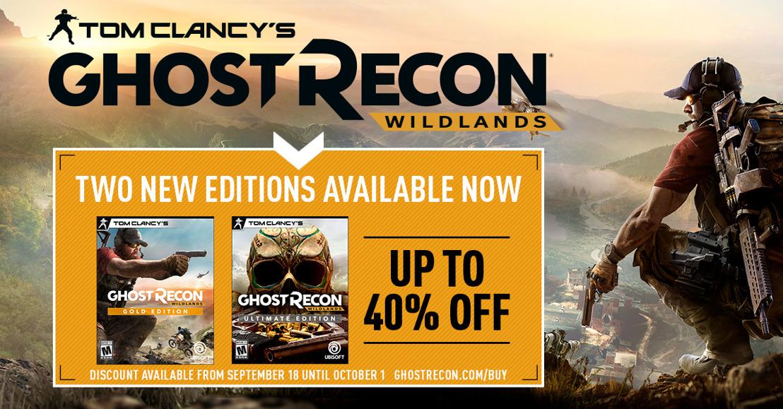 Ghost recon Wildlands gratis durante fin de semana