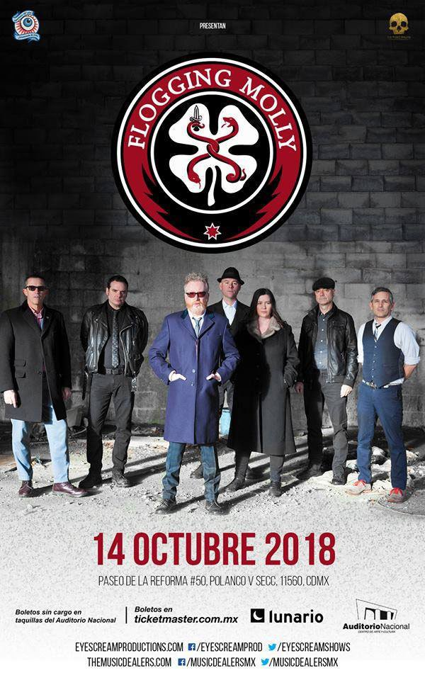 Flogging Molly cmdx 2018