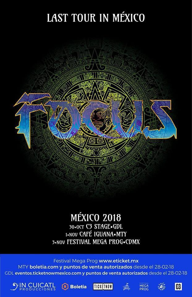 Última gira de Focus en México