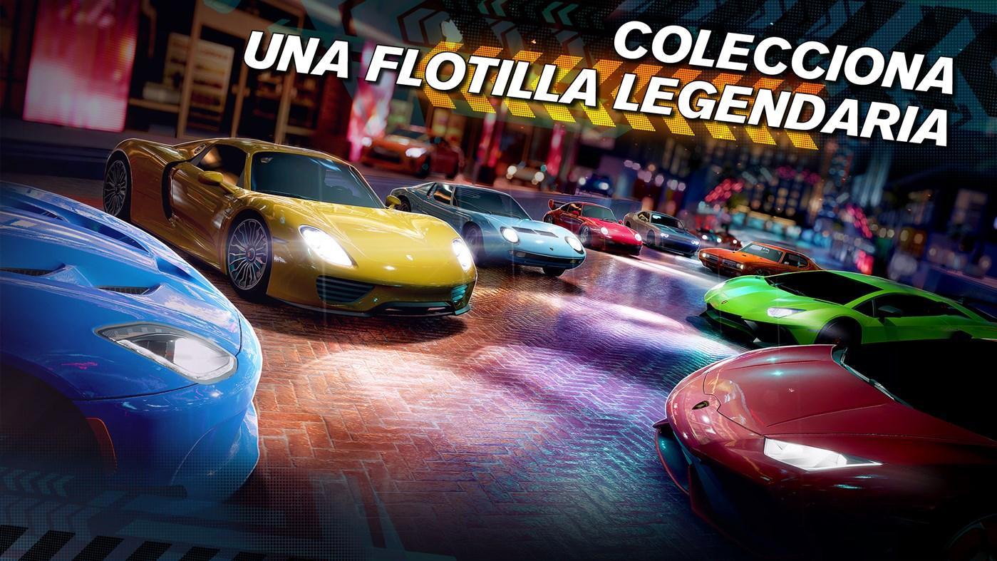 En Forza Street puedes coleccionar autos modernos, deportivos y retro.
