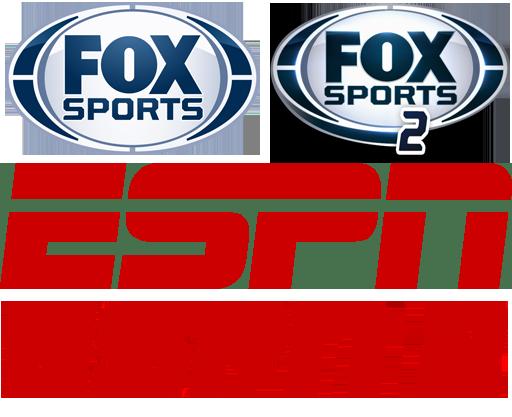 Fox Sports | Fox Sports 2 | ESPN | ESPN 2