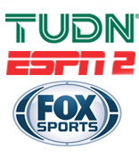 Fox Sports | ESPN 2 | TUDN