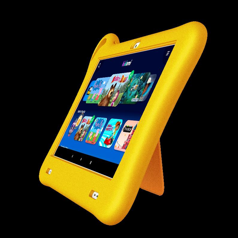 TKEE Mini es una tableta para niños de entre 3 y 10 años con juegos y contenidos educativos precargados.
