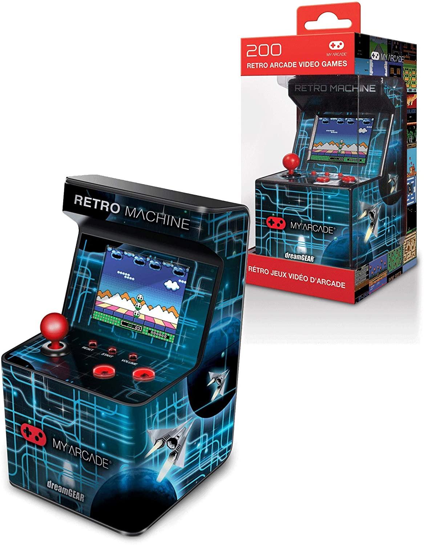 Arcade Retro Machine para jugar maquinitas con esta réplica en miniatura.