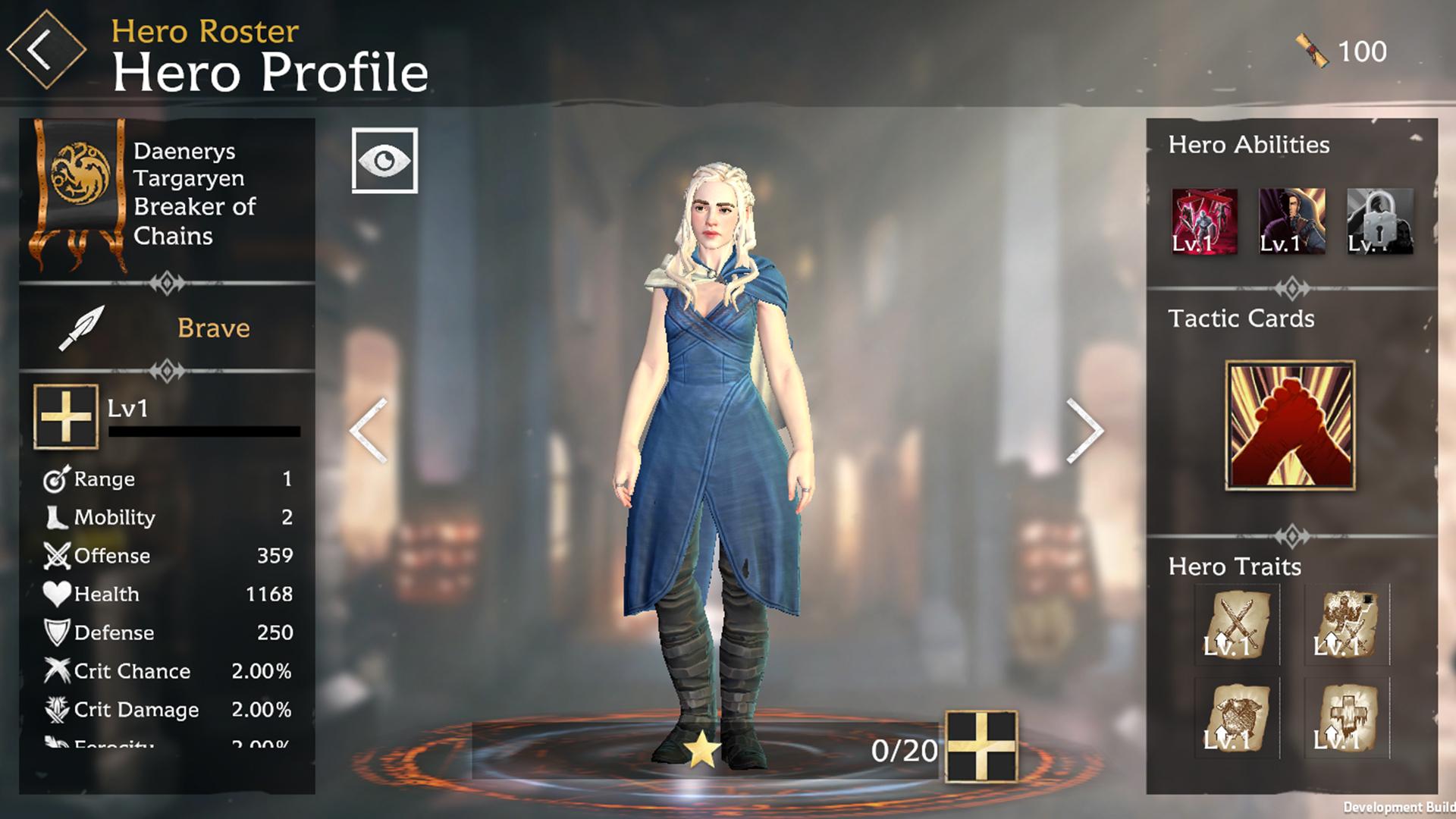 Perfil de Daenerys Targaryen en GOT Beyond The Wall