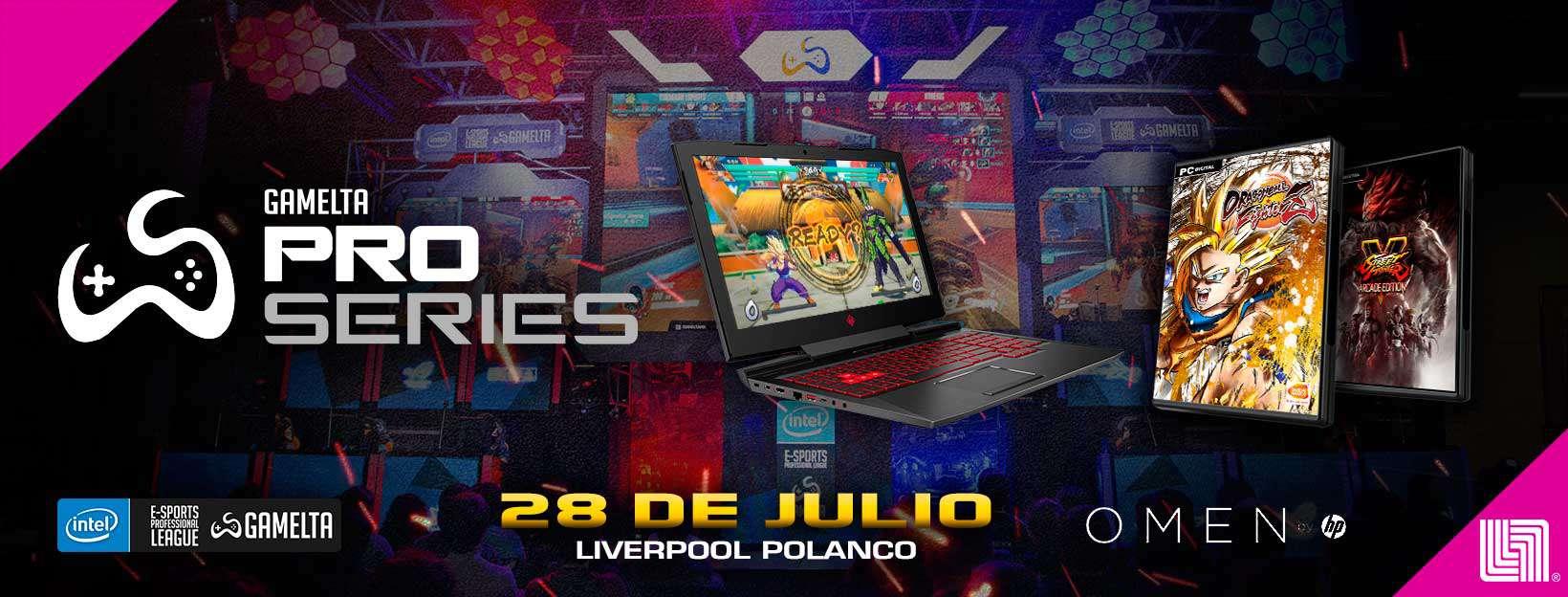 Gamelta Pro Series te lleva a EVO 2018