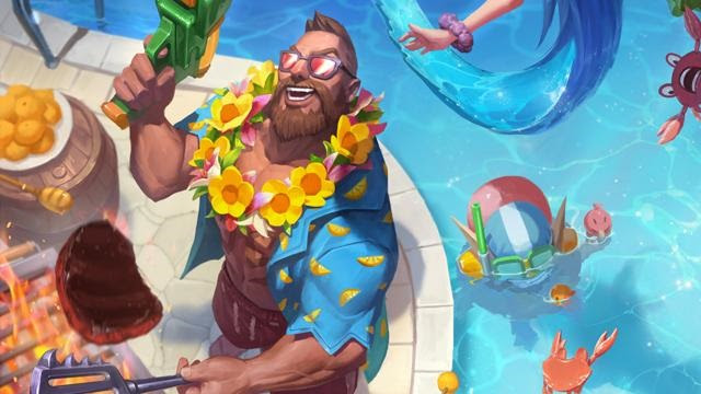 Aspecto Gangplank Veraniego League of Legends 2018