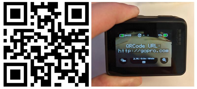 ¿Cómo obtener códigos QR para controlar tu GoPro HERO8 Black?