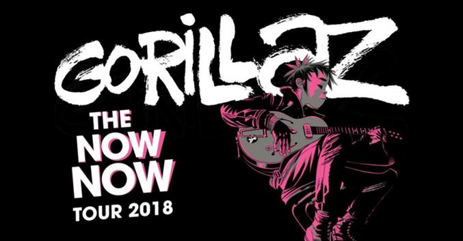 Gorillaz en el Palacio de los Deportes el 24 de octubre