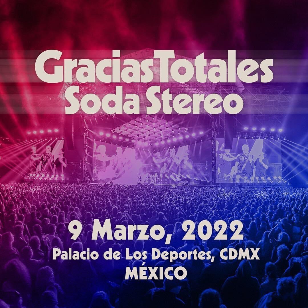 Cartelera de conciertos en México 2022