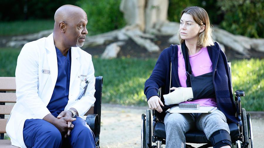 Escena de la temporada 12 de Grey's Anatomy