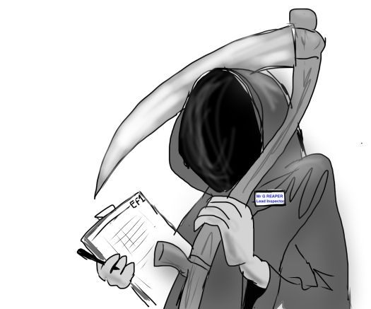 La Muerte y su lista