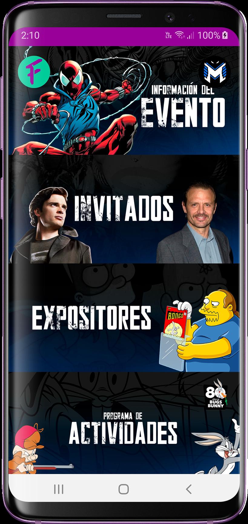 La Mole 2020 usa Frik-in app como tu gúia en la convención de cultura pop más grande de México